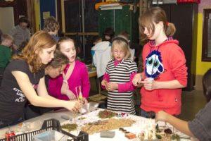 ntwerpbijeenkomst met kinderen -Speeleiland Almere