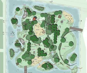afbeelding ontwerp Speeleiland Almere