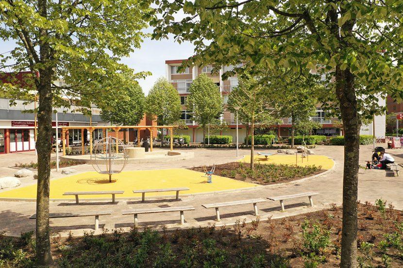 speel- en ontmoetingsruimte voor jong en oud