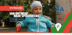 SVS online magazine cover nummer 1