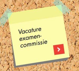 oproep vacature Examencommissie SVS